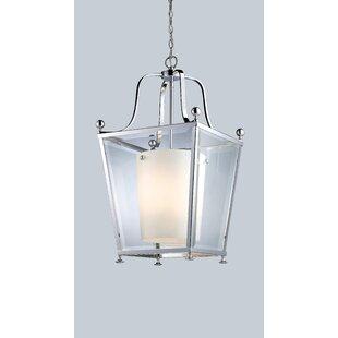 Cully 4-Light Lantern Pendant by DarHome Co