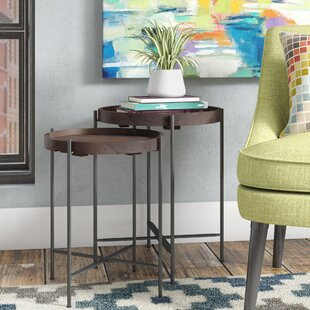 Addisyn 2 Piece Nesting Tables by Ivy Bronx