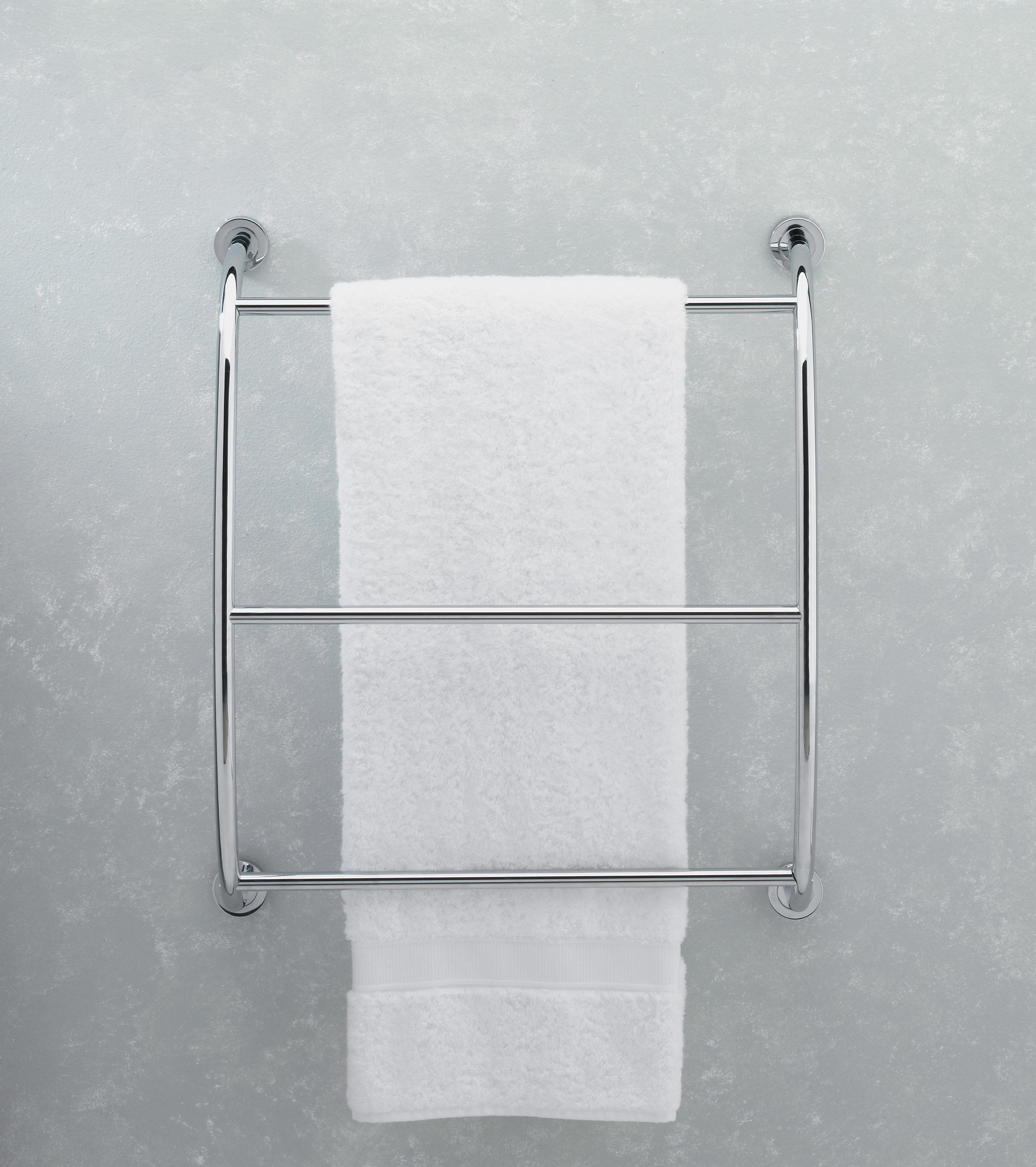 Symple Stuff Galesville Wall Mounted Towel Rack Reviews Wayfair Ca