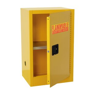 35 H x 23 W x 18 D Compact Flammable Safety Storage Cabinet by Sandusky Cabinets