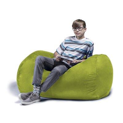 Superb Jaxx Jaxx Jr Bean Bag Lounger Upholstery Lime Dailytribune Chair Design For Home Dailytribuneorg