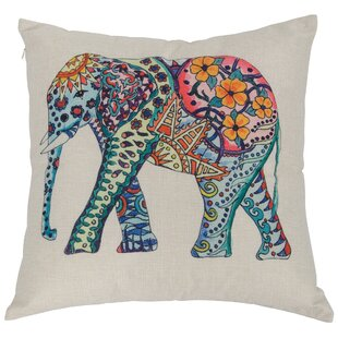 Aquin Elephant Throw Pillow
