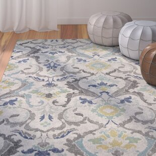 Curtice Gray Harmony Area Rug by Bungalow Rose