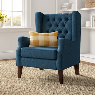 Allis Wingback Chair by Three Posts SKU:CA334318 Details