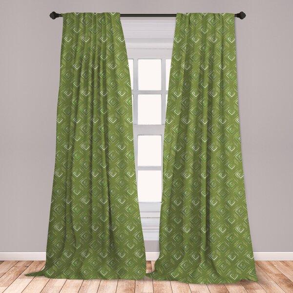 Olive Green Curtains   Wayfair