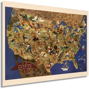 United States Map Wall Art Wayfair