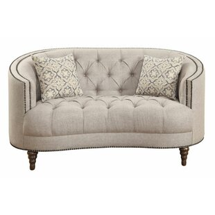 Hayhurst Chesterfield Loveseat