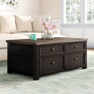Edmore Coffee Table With Storage Canora Grey