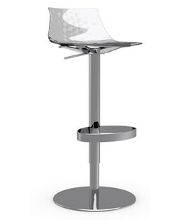 Affordable Ice Adjustable Height Swivel Bar Stool by Calligaris Reviews (2019) & Buyer's Guide