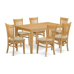 Smyrna 7 Piece Dining Set by Charlton Home Spacial Price