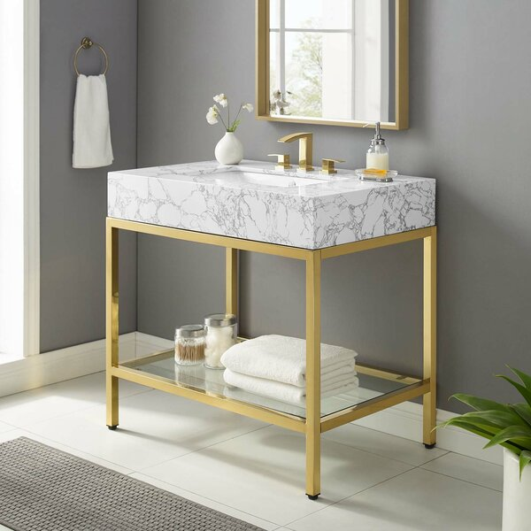 Art Deco Bathroom Vanity Wayfair