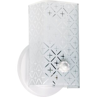 Best Choices Clairmont 1-Light Bath Sconce By House of Hampton