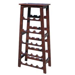 elegancy 18 bottle floor wine rack