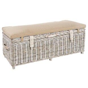 Delicieux Graham Wicker Storage Bench ...