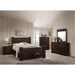 Octavia Storage Panel Configurable Bedroom Set