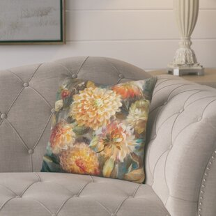 Joyner Autumn Hydrangea Throw Pillow
