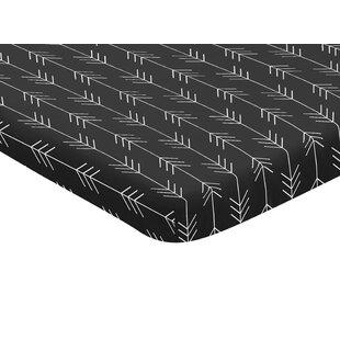 Reviews Rustic Patch Arrow Mini Fitted Crib Sheet BySweet Jojo Designs