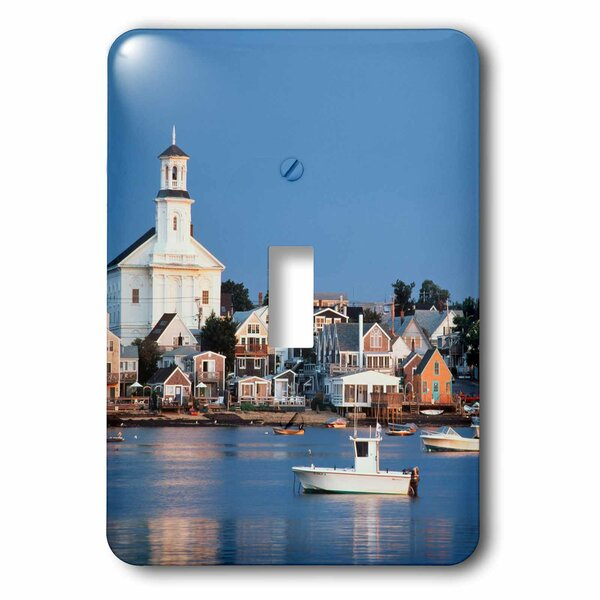 3drose Massachusetts Harbor And Town 1 Gang Toggle Light Switch Wall Plate Wayfair