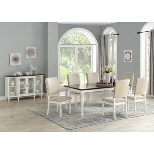 Mitch 7 Piece Dining Set Highland Dunes