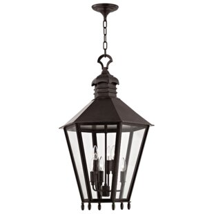 Ericson 6-Light Outdoor Hanging Lantern by Darby Home Co Design