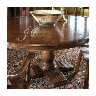 54'' Extendable Dining Table Jonathan Charles Fine Furniture