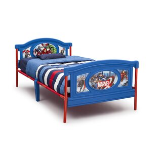 Avengers Twin Panel Bed by Delta Children