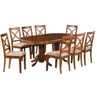 Barbera 7 Piece Extendable Solid Wood Dining Set Alcott Hill