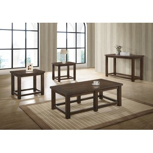 Top Reviews Meeks 3 Piece Coffee Table Set By Canora Grey