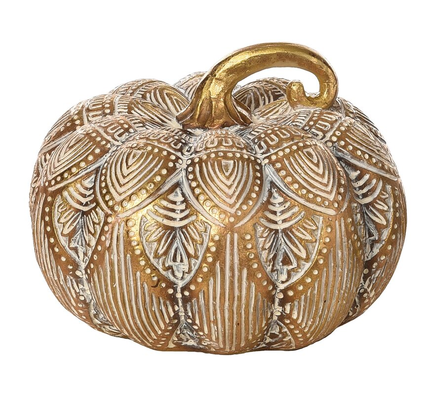Aaru Resin Pattern Pumpkin