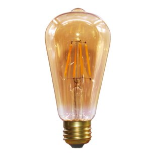 6 Pack LXcom LED Candelabra Light Bulbs 5W LED Candle Bulbs 50Watt Equivalent 500LM Warm White 3000K LED Chandelier Bulbs E26//E27 Base for Home Lighting AC85-265V Non-Dimmable