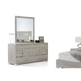 Febus Modern 3 Drawer Standard Dresser