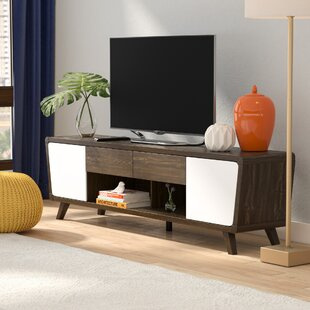 Great Price Dormer Modern TV Stand for TVs up to 70 by Langley Street Reviews (2019) & Buyer's Guide