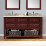 Berlin 60 Double Bathroom Vanity Set by Ove Decors
