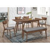 Yemina Milford 5 Piece Dining Set by George Oliver