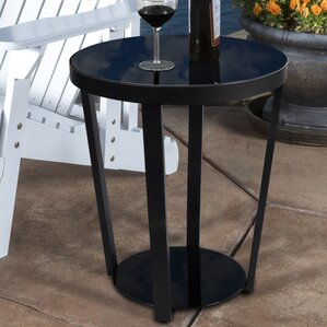 Round Nightstand End Table by Lifewit