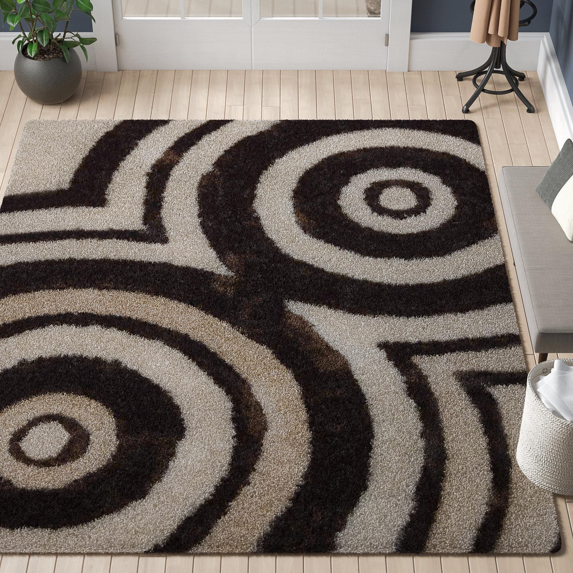 Orren Ellis Aaliyah Geometric Handmade Tufted Beige Area Rug Reviews Wayfair Ca