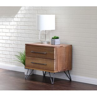 Buy luxury Austin 2 Drawer Nightstand by Home Image