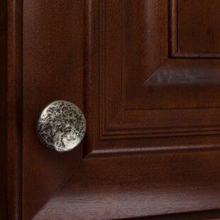Hammered Cabinet Mushroom Knob (Set of 10)