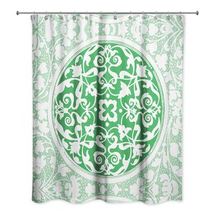 Velazquez Boho Medallion Single Shower Curtain