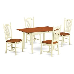 Balfor 5 Piece Dining Set Andover Mills
