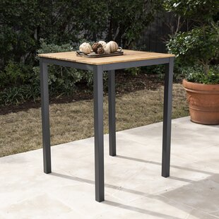 Anthea Solid Wood Bar Table by Bay Isle Home