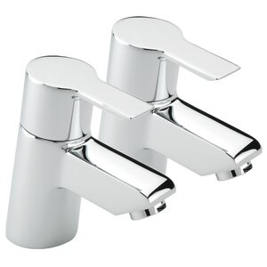 2-tlg. Wannenarmatur-Set Angle von Belfry Bathroom
