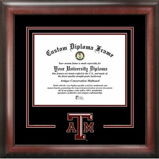 NCAA Texas A&M Aggies Spirit Diploma Picture Frame By Campus Images