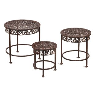 Saniyah 3 Piece Nesting Tables by Astoria Grand Comparison