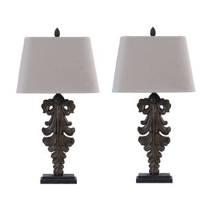 Umber Could 34 Table Lamp (Set of 2)
