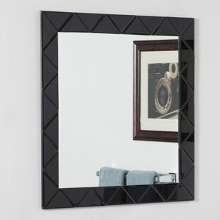 Luciano Frameless Wall Mirror By Decor Wonderland