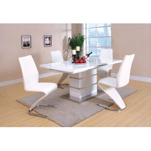 Cronus 5 Piece Extendable Dining Set by Orren Ellis Cheap