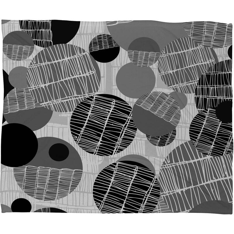 Rachael Taylor Textured Geo Throw Blanket