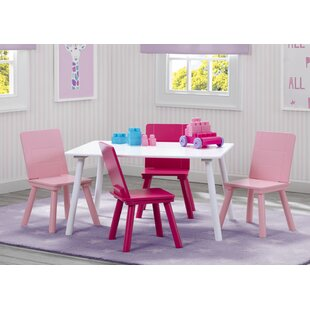 Price comparison Kids 5 Piece Writing Table and Chair Set By Delta Children