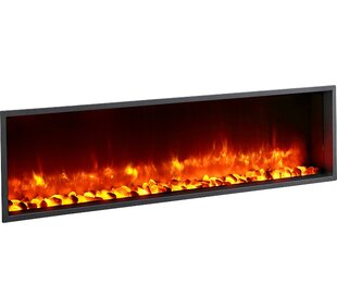 LED Wall Mounted Electric Fireplace By Dynasty Fireplaces